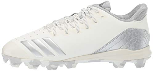 adidas Icon 4, Cloud White/Silver Metallic/Grey 4.5 M US Big Kid by adidas (Image #5)