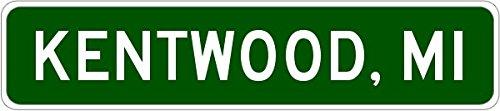 KENTWOOD, MICHIGAN City Limit Sign - Heavy Duty - 9