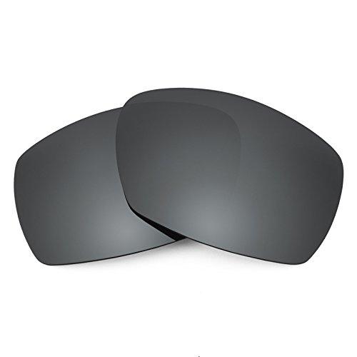 Verres de rechange pour Smith Dockside — Plusieurs options Noir Chrome MirrorShield® - Polarisés