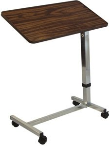 Graham Field Lumex Deluxe Tilt Overbed Table, QTY: 1
