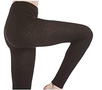 b86b885607a23 Image Unavailable. Image not available for. Color: Angora wool leggings  UNISEX Black Tg. L