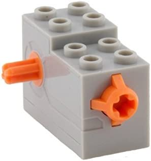 61100c01 Lego WINDUP MOTOR 2x4x2 1//3 with Orange Release Button