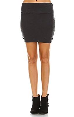 Zoozie LA Women's Bodycon Skirt Mini
