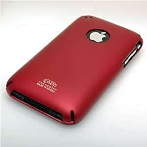 Red Cozip Apple iPhone 3GS / 3G S, Apple iPhone 3G Polycarbonate Slim fit Case + FREE Neckstrap !