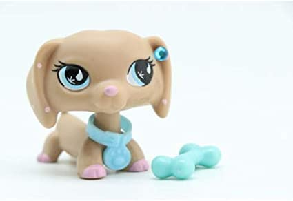 Littlest Pet shop Dachshund Dog #909 Accessories For LPS Toy Collection Figure