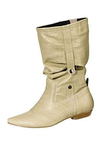 Walk Beige Bottes De City En dzqwxFdR