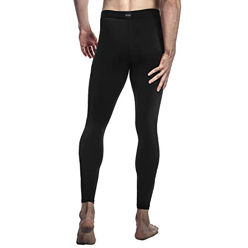 Pour Drskin Legging Pantalon Course Homme Fitness Sport Running Simple Noir Skins Collant De Compression TZAwqS