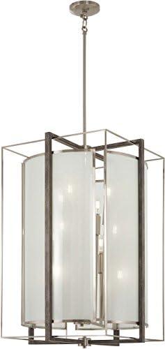 Minka Lavery Pendant Ceiling Lighting 3569-098 Tyson s Gate, 12-Light 720 Watts, Brushed Nickel