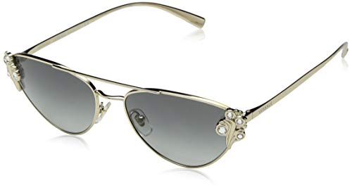 Versace Women's VE2195B Pale Gold/Grey Gradient One Size
