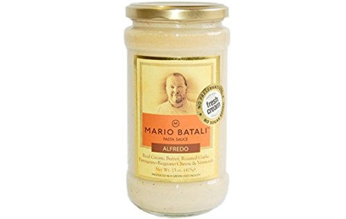 Mario Batali Alfredo Pasta Sauce, 15 Ounce (Pack of 6)