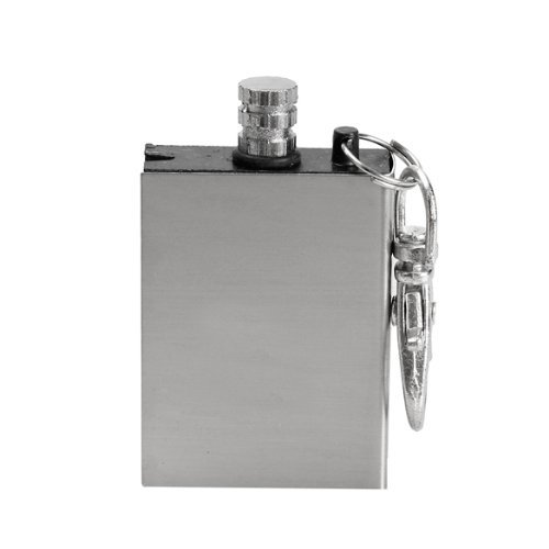 New windproof stainless steel metal match lighter gas oil