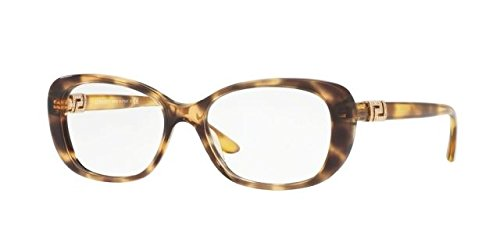 Versace Women's VE3234B Eyeglasses Havana 53mm by Versace