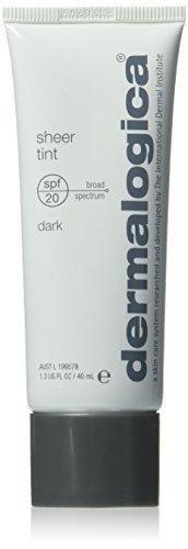 Dermalogica Sheer Tint Moisture SPF 20, Dark, 1.3 Fluid ()