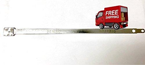Metal Flat Head Seal 200 Pack Flat Metal Seals Lot of 8 /½ inches Long Metal Truck and Trailer Flat Head Security Seals Flat Metal Seals
