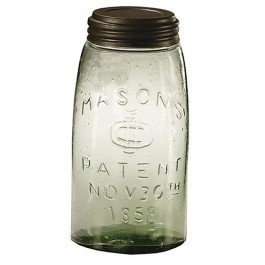 Quart Mason Fruit Jar