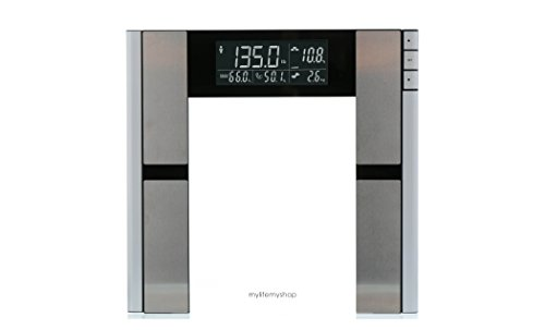 My Life My Shop Digital Body AnalyzerScale- Scale forbody weight, Body Fat, Muscle Mass, Bone Density, Water Weight, 397 Pound Capacity