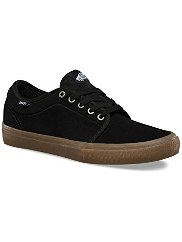 Black Vans Pro Low Mens Gum Sneakers Chukka rzzZqxtH