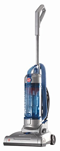 Hoover Sprint QuickVac Bagless Upright Vacuum Cleaner one Size Blue (Renewed)