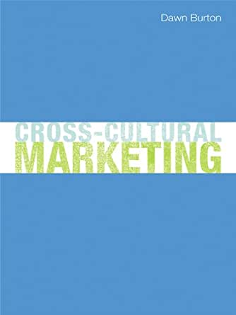 cross cultural perspective in marketing departments Assessing consumer behavior differences in a cross-cultural context: a historical perspective in foreign marketing, in general, and cross-cultural.