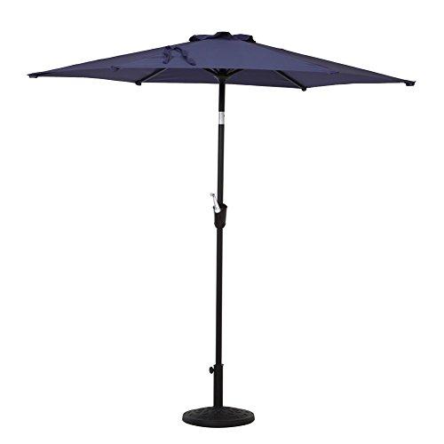 Patio Umbrella Uv Protection: Grand Patio 7.5' Round Outdoor Market Patio Umbrella, UV