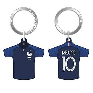 Fédération Francaise de Football FFF - Porte-clés Maillot Numéro 10 - Mbappé 2