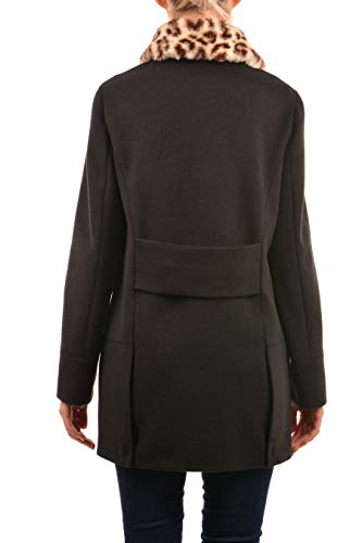 Cappotto Jeans Trussardi Coat Nero Donna Drawing Hive IaZOfZwqx