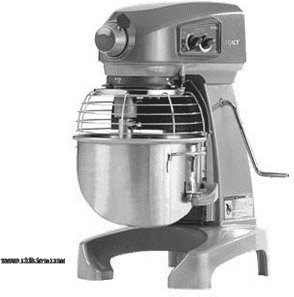 Hobart HL120-40STD 200-240/50/60/1; Bench type mixer; with bowl by Hobart