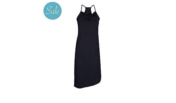 10 Days Amsterdam - Vestido - Falda con peto - para mujer negro 44: Amazon.es: Ropa y accesorios