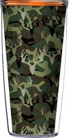Deer Camo 16 Oz Signature Tumblers with Lid
