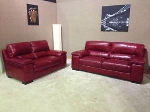 Online Sofa Wholesale Napoli 3+2 Full Italian Leather Sofa ...