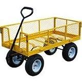 VULCAN TC4205EG Garden Cart with Sides, 1200-Pound