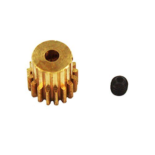 Redcat Racing 17T/.6 Module Brass Pinion Gear (Pinion 17t)