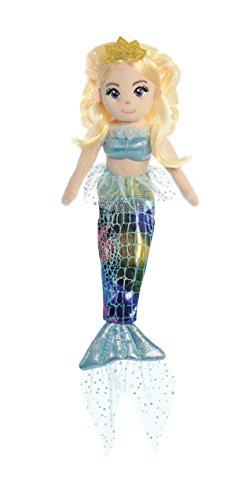 Aurora World Sea Sparkles Mermaid Doll Plush Toy, Multicolor from Aurora