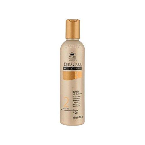 自然な質感ヘアミルク240ミリリットル x4 - Keracare Natural Textures Hair Milk 240ml (Pack of 4) [並行輸入品] B071NGV61F