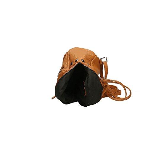 Italy Mujer Auténtico Aren Cm Cuero Bolsa Broncearse Made De Mochila In En 17x20x11 A4qB4YnzW