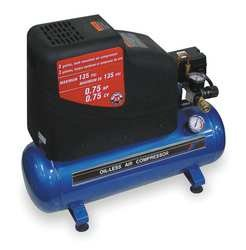 Industrial Grade 1NNE5 Air Compressor 115 V .75 HP 3 Gal Tank / Industrial Grade 1NNE5 Air Compressor 115 V .75 HP 3 Gal Tank