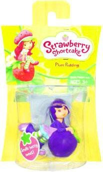Strawberry Shortcake Hasbro Basic Figure Plum - Basic Strawberry Figure Shortcake
