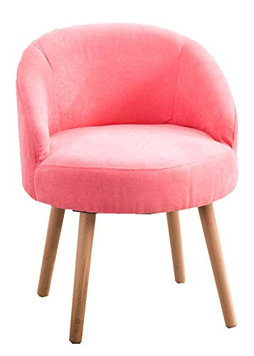Modern Candy Pink Leisure Arm Chairs Single Couch Seat Home Garden Living Dining Room Furniture Sofa with Solid Wood Legs from DUSTIN'S