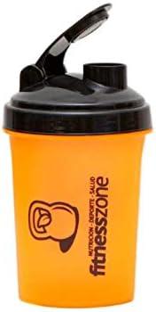 FITNESS ZONE | Nano Shaker 500 ml | Bottle Cocktail Pequeño Para Batidos de Proteínas u Otras Bebidas | Tapón Anti-Aperturas + Filtro Evita Grumos | Coctelera y Mezcladora Para Batidos