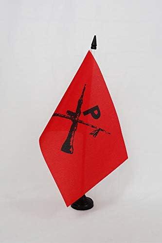 AZ FLAG Bandera de Mesa de los MONTONEROS DE Argentina 21x14cm ...