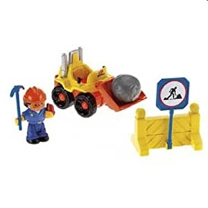 Fisher Price Little People Roberto and His Loader