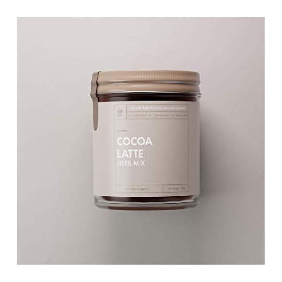 Amaara Herbs, Cocoa Latte, Herb Mix, 100g, a Blend of Cocoa Powder, Ashwagandha, Cardamom, Coconut Sugar   Traditional