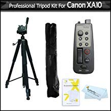 8 Function Lanc Remote Control Kit For Canon XA10 HD Professional Camcorder Includes 8 Function LANC Remote Control Handle + Pro 72
