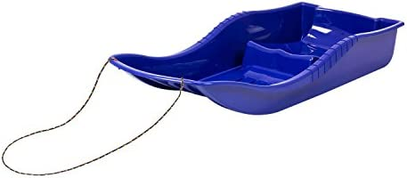 Prosper Plast Trineo de pl/ástico con cuerda para tirar de la nieve color azul