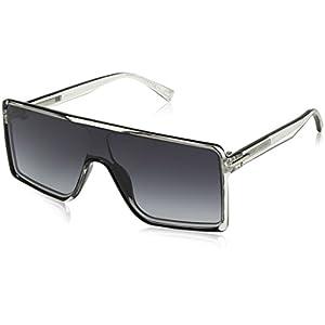 Marc Jacobs Marc220s Rectangular Sunglasses, Crys Blck, 99 mm