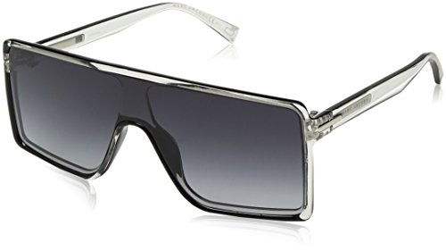 Marc Jacobs Marc220s Rectangular Sunglasses, Crys Blck, 99 mm