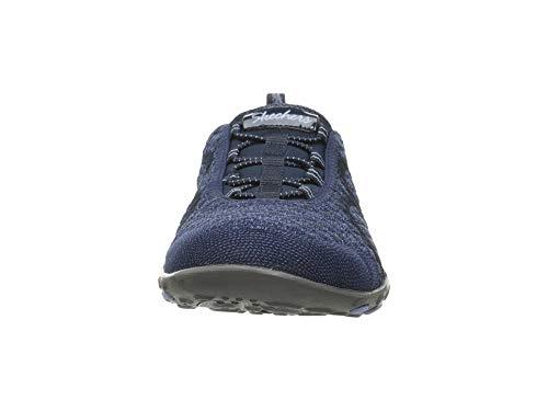 [SKECHERS(スケッチャーズ)] レディーススニーカー?ウォーキングシューズ?靴 Breathe-Easy - Fortuneknit