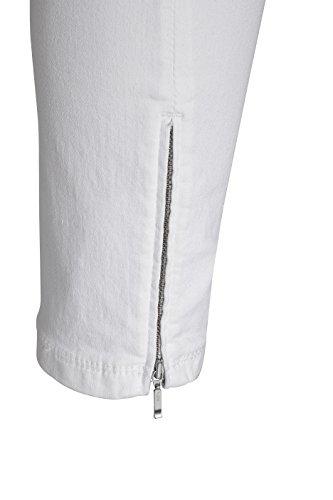 MAC Damen 7/8 Jeans Dream Summer Chic 5471 white denim D010