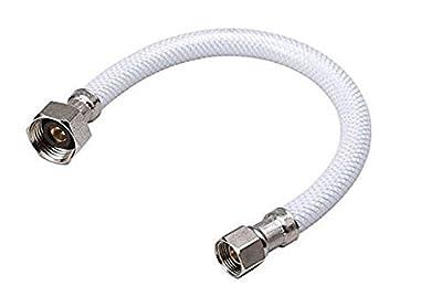 """Pro Line PVC Reinforced Faucet Supply Lines 20"""" x 3/8"""" x 1/2"""""""