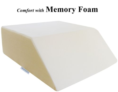 intevision-ortho-bed-wedge-with-high-quality-removable-cover-size-8-x-21-x-24-color-ivory